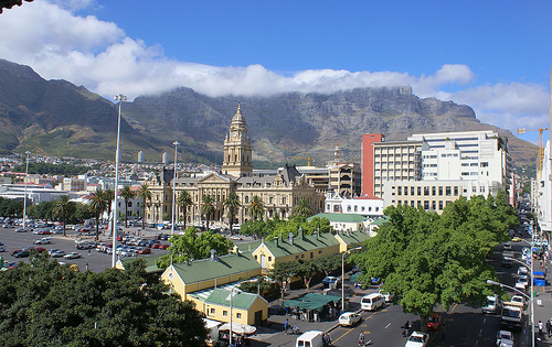 The Town hall in Cape Town, South Africa