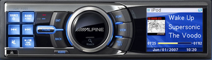 Alpine iDA x001 iPod enabled car stereo