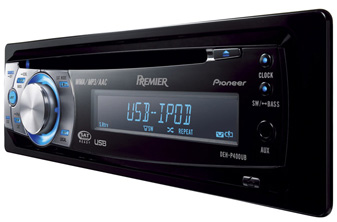 Pioneer DEH-P400UB with direct iPod control